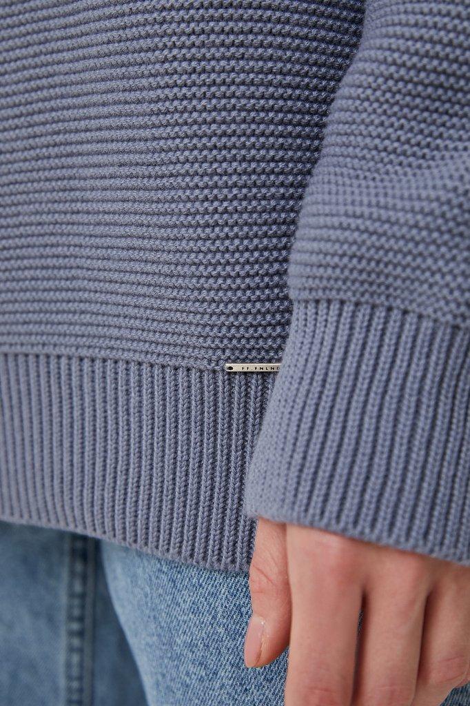 Женский свитер оверсайз прямого силуэта, Модель FAB111105, Фото №5