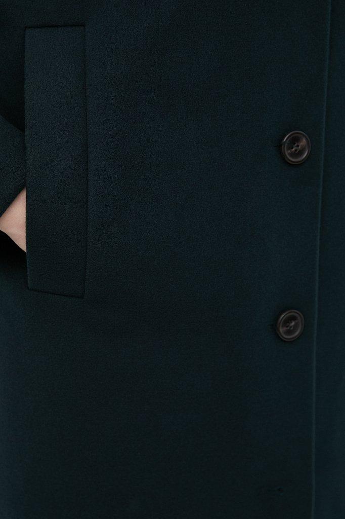 Драповое женское пальто, Модель FAB110209, Фото №6