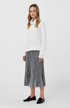 плиссированная женская юбка с принтом FAB110121