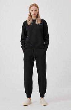 Женские брюки на резинке с манжетами по низу FAB110178