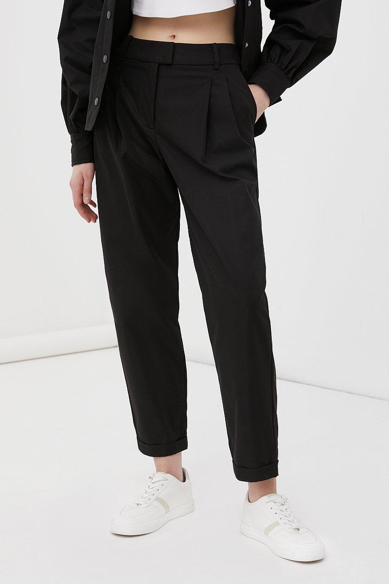 Женские брюки чинос на средней посадке, Модель FAB11010, Фото №2