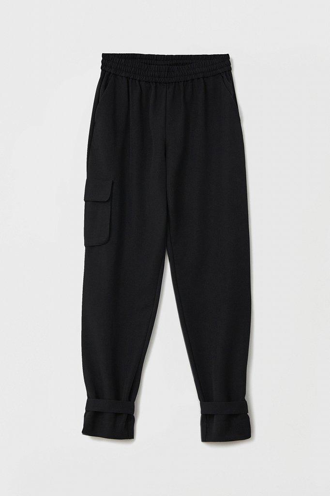 Женские брюки спортивного фасона c патами, Модель FAB110128, Фото №6