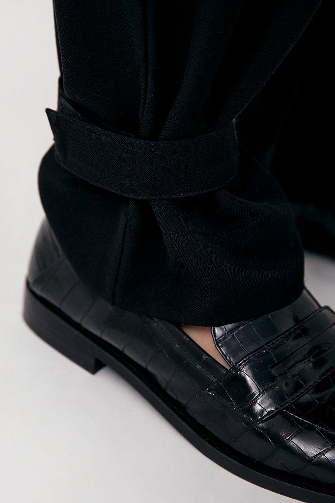 Женские брюки спортивного фасона c патами, Модель FAB110128, Фото №5