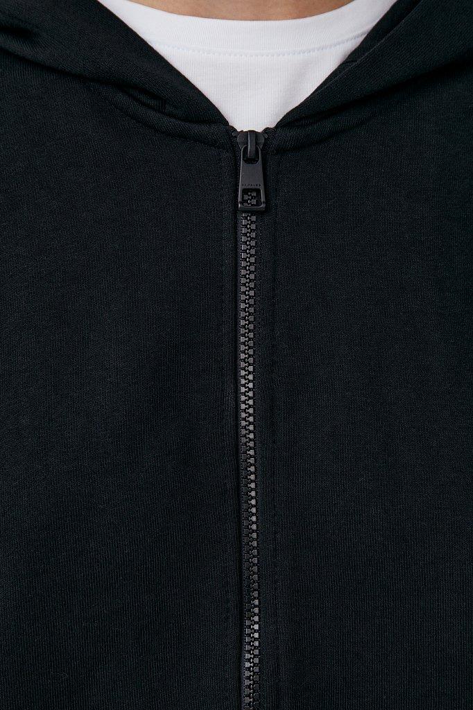 Базовая женская толстовка из смесовой ткани, Модель FAB110177, Фото №6