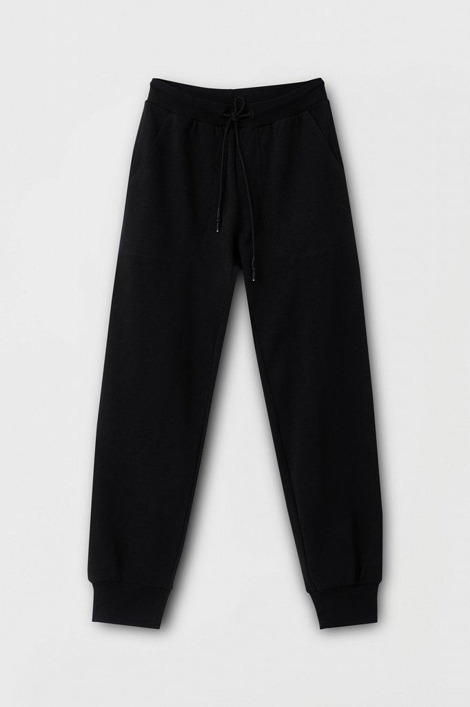 Женские брюки на резинке с манжетами по низу, Модель FAB110178, Фото №6