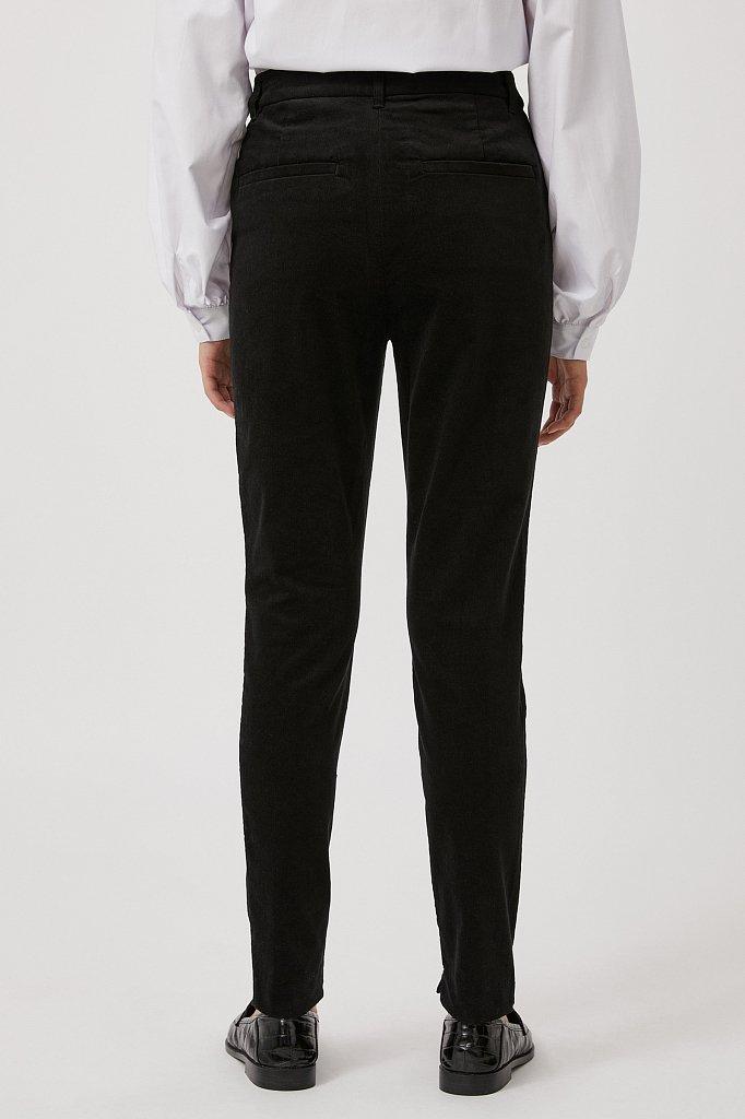 Вельветовые зауженные женские брюки, Модель FAB110184, Фото №4