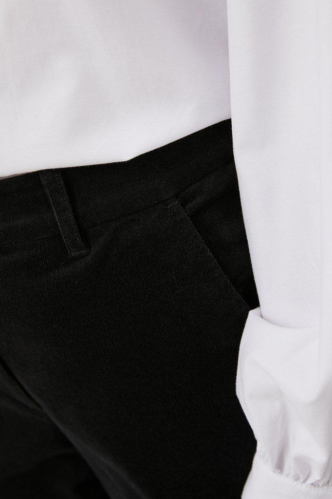 Вельветовые зауженные женские брюки, Модель FAB110184, Фото №5