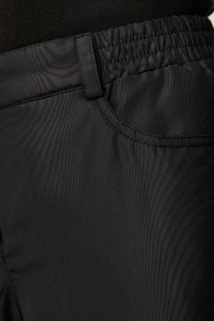 Брюки женские с утеплителем с резинкой на поясе, Модель FAB110189, Фото №5