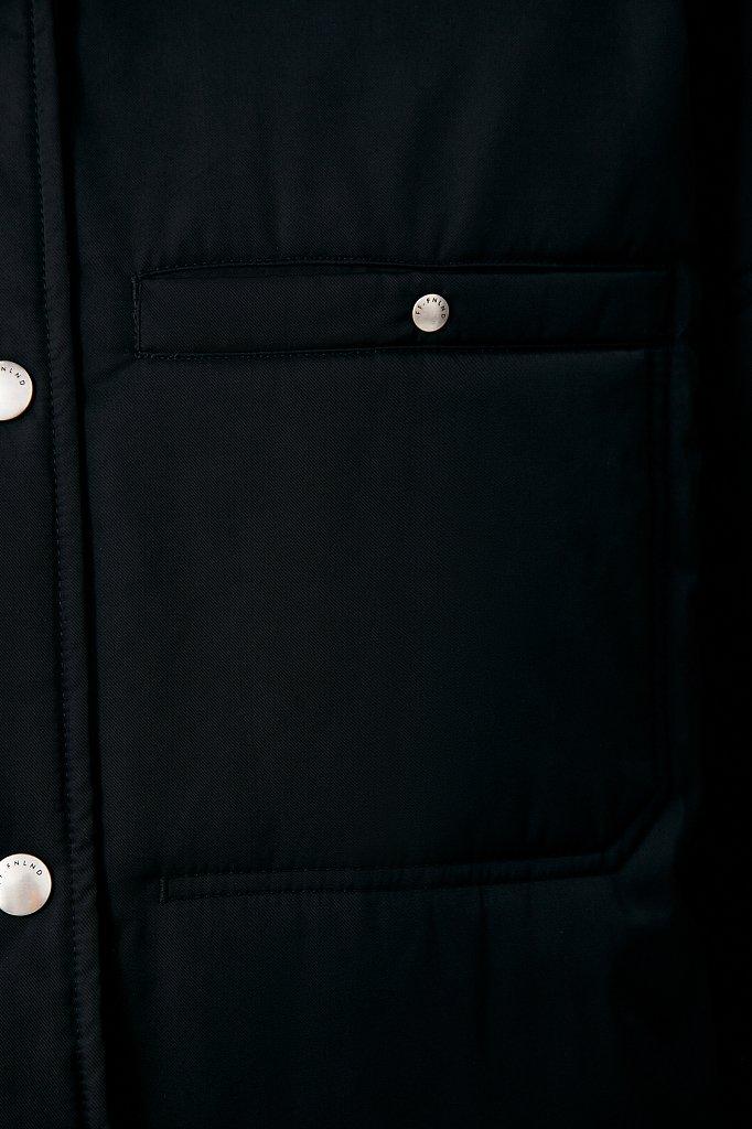 Утепленная женская куртка свободного кроя, Модель FAB110194, Фото №5