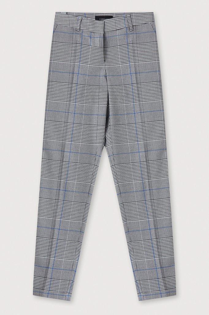 Классические женские брюки в клетку со стрелками, Модель FAB110202, Фото №6