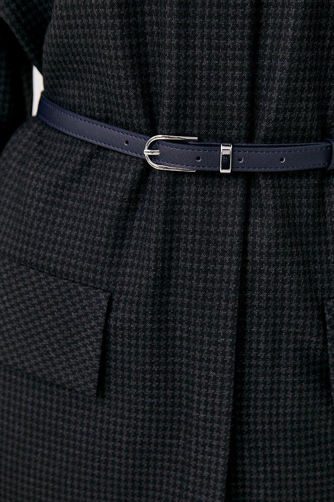 Удлиненный женский жакет из смесовой ткани, Модель FAB11021, Фото №6