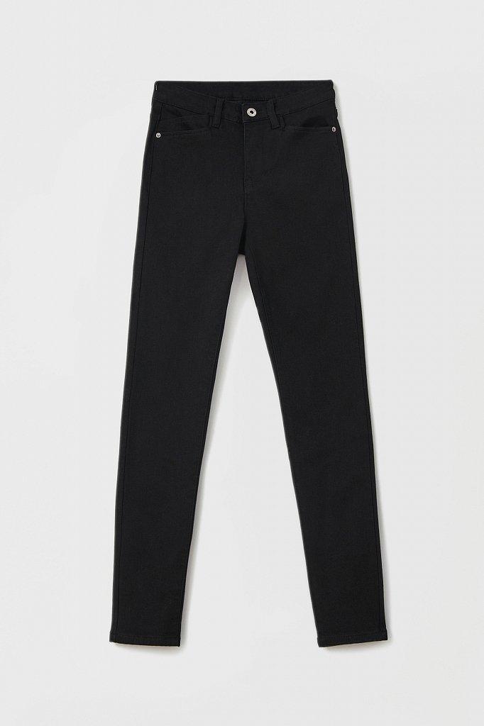 Женские слегка зауженные джинсы slim fit, Модель FAB15022, Фото №6
