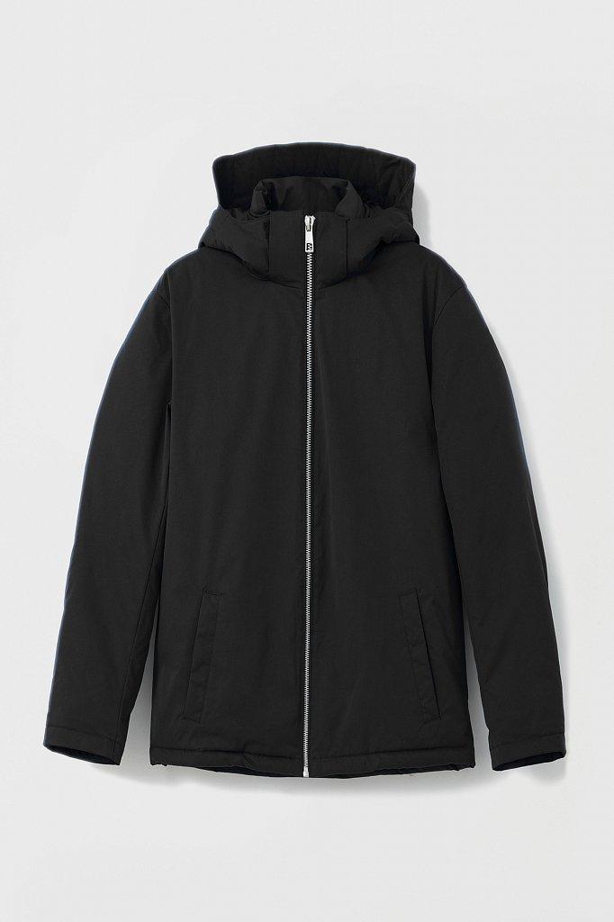 Демисезонная куртка мужская свободного кроя, Модель FAB21006, Фото №7