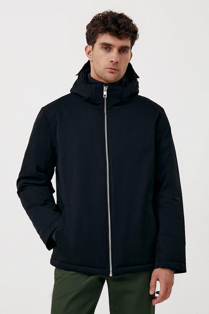 Демисезонная куртка мужская свободного кроя, Модель FAB21006, Фото №1