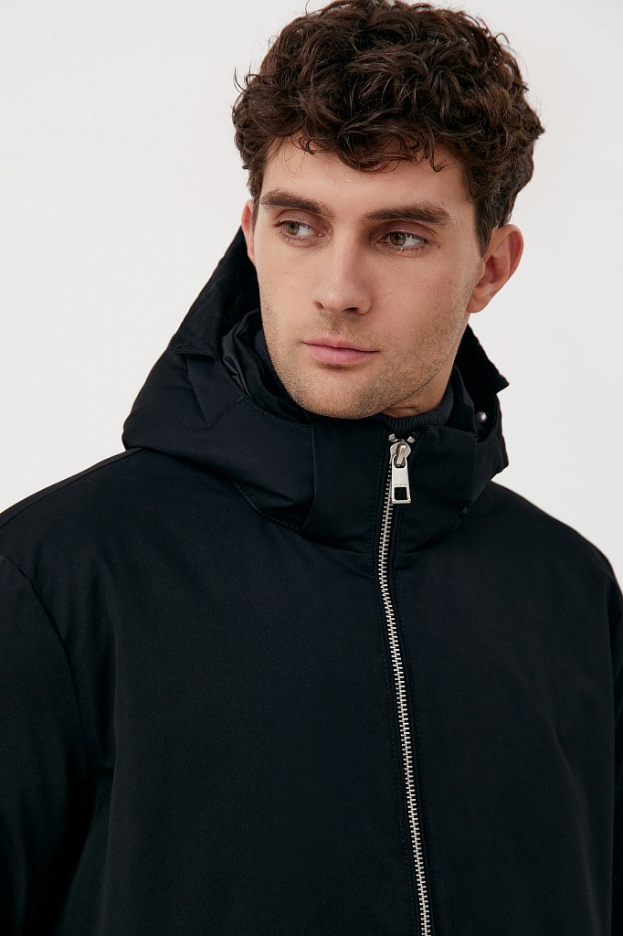 Демисезонная куртка мужская свободного кроя, Модель FAB21006, Фото №6