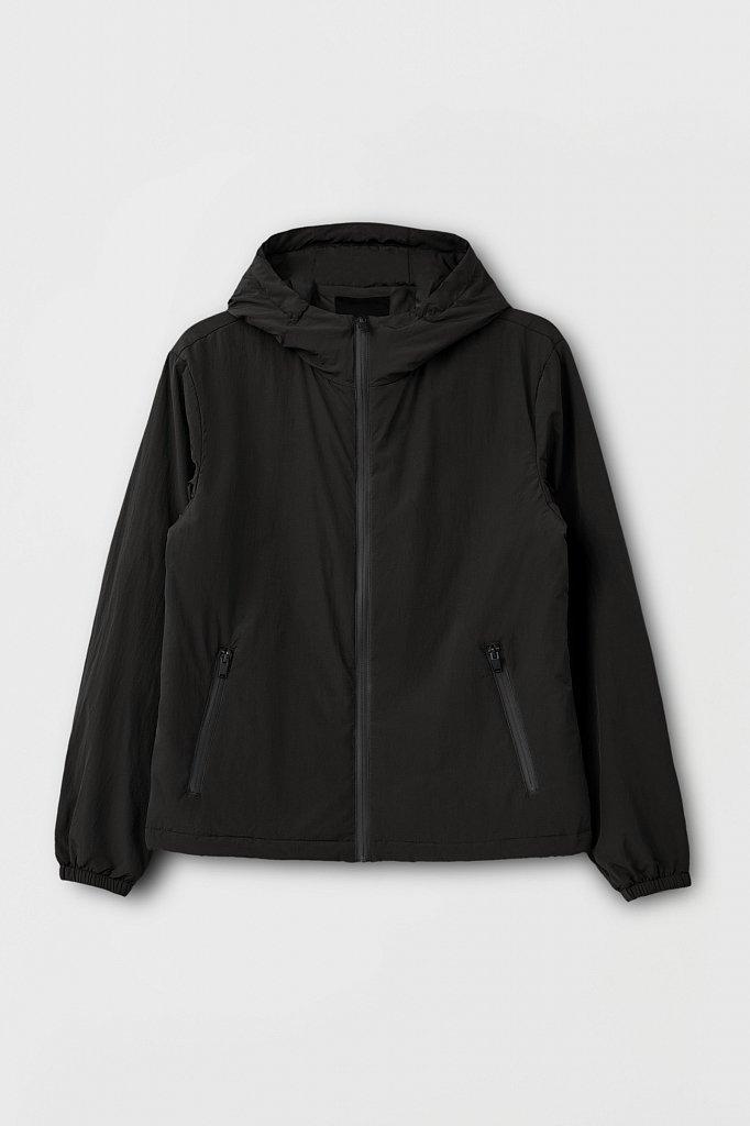 Базовая межсезонная куртка свободного кроя, Модель FAB210105, Фото №8