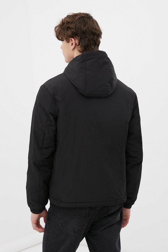 Базовая межсезонная куртка свободного кроя, Модель FAB210105, Фото №5