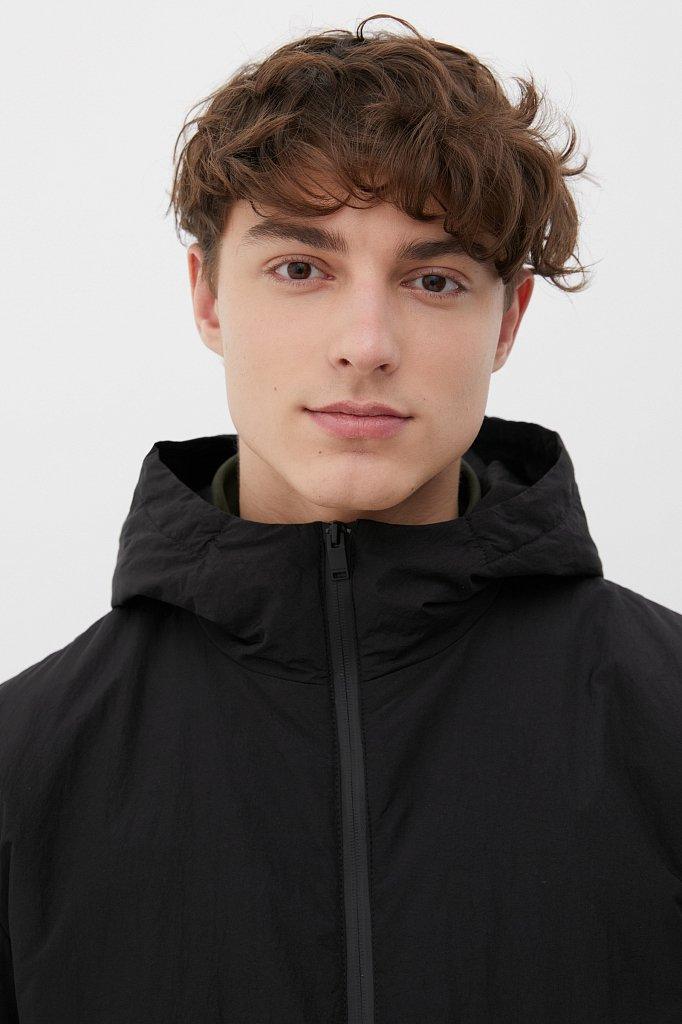 Базовая межсезонная куртка свободного кроя, Модель FAB210105, Фото №6