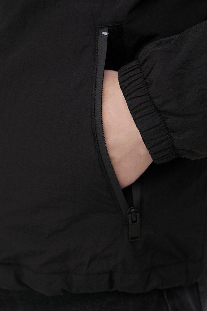 Базовая межсезонная куртка свободного кроя, Модель FAB210105, Фото №7