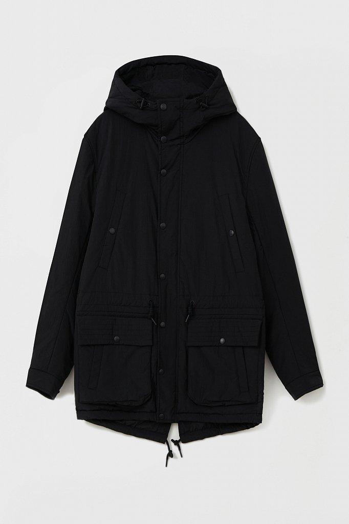Демисезонная мужская куртка свободного кроя, Модель FAB21029, Фото №8