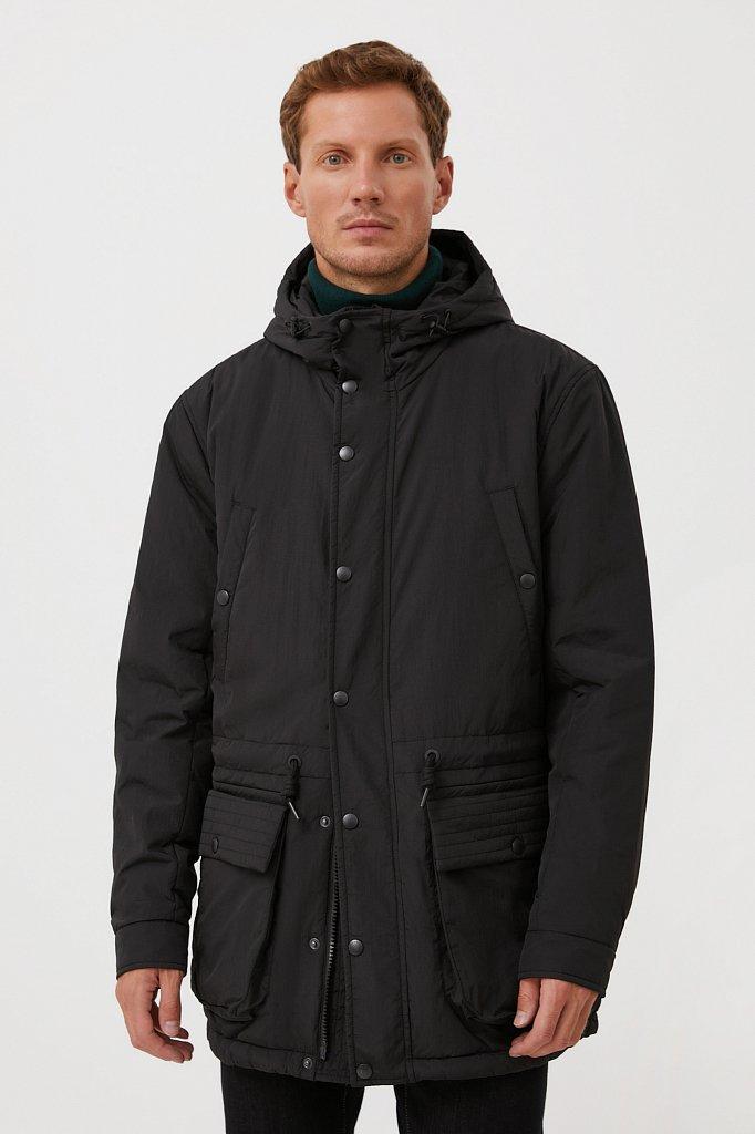 Демисезонная мужская куртка свободного кроя, Модель FAB21029, Фото №1