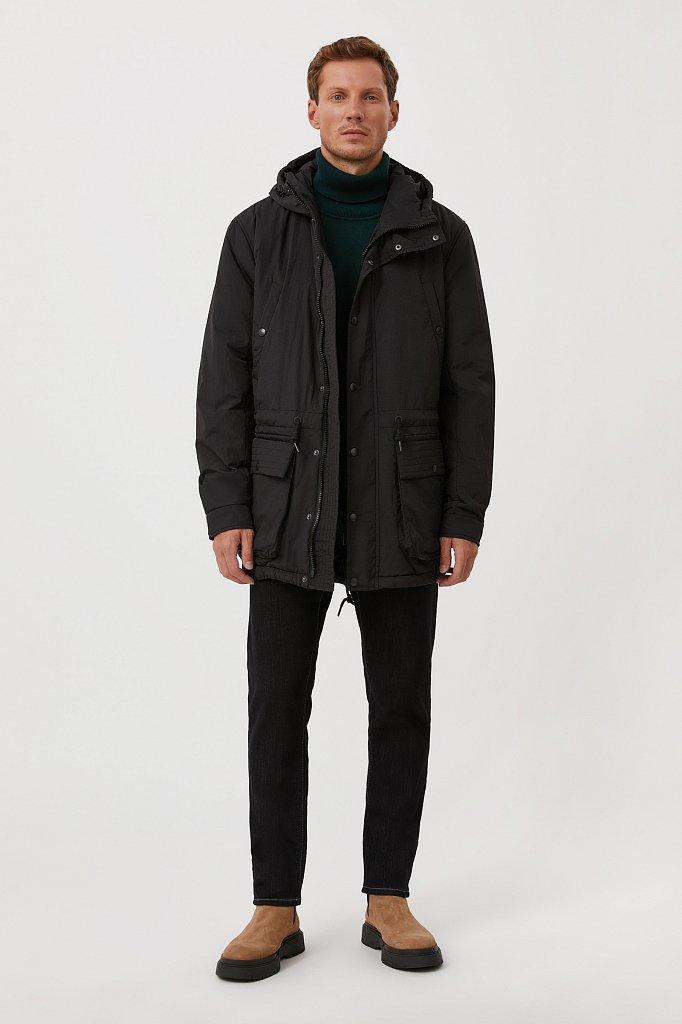 Демисезонная мужская куртка свободного кроя, Модель FAB21029, Фото №2