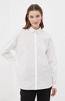 Классическая женская рубашка оверсайз из хлопка FAB110112