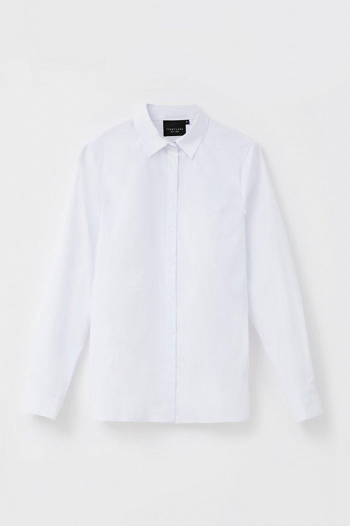 Классическая женская рубашка приталенного силуэта, Модель FAB110224, Фото №7