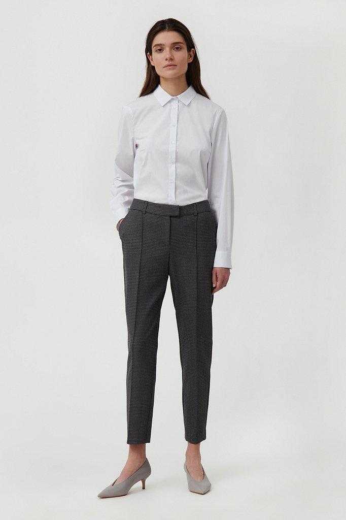 Классическая женская рубашка приталенного силуэта, Модель FAB110224, Фото №2