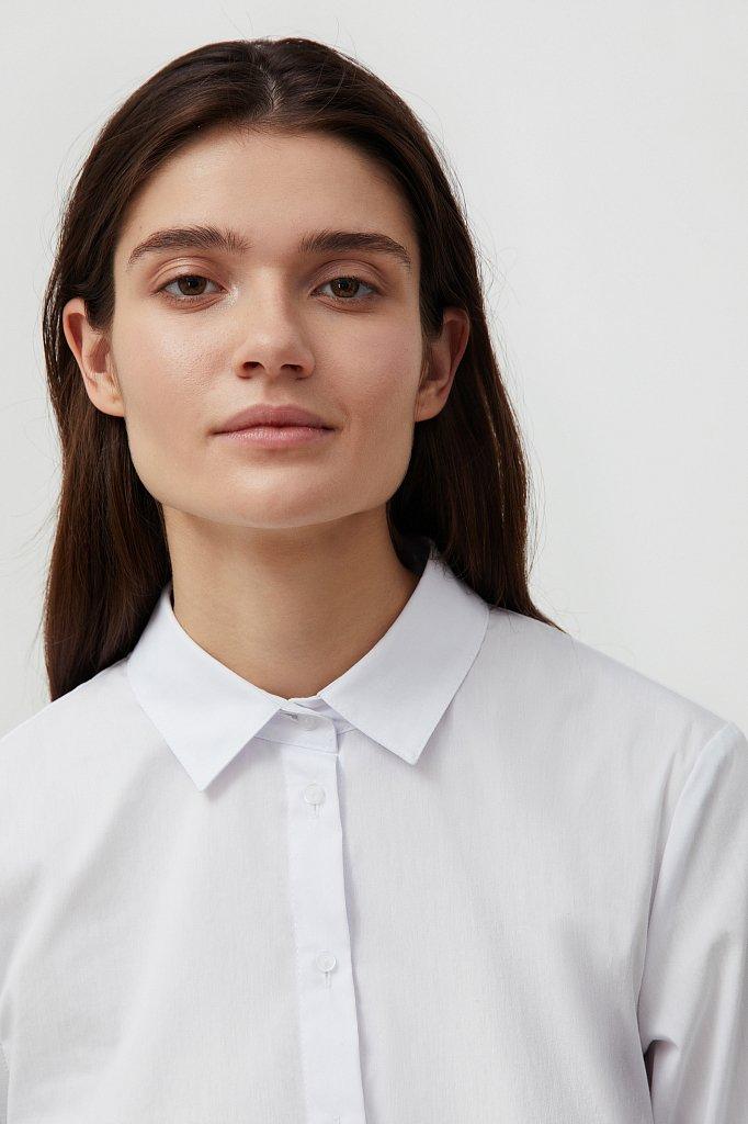 Классическая женская рубашка приталенного силуэта, Модель FAB110224, Фото №6