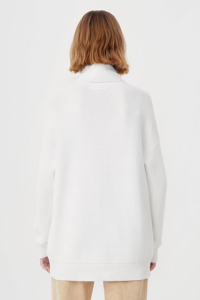Женский свитер оверсайз прямого силуэта, Модель FAB111105, Фото №4