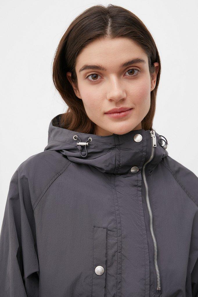 Ветровка женская оверсайз c резинкой на талии, Модель FAB110198, Фото №5