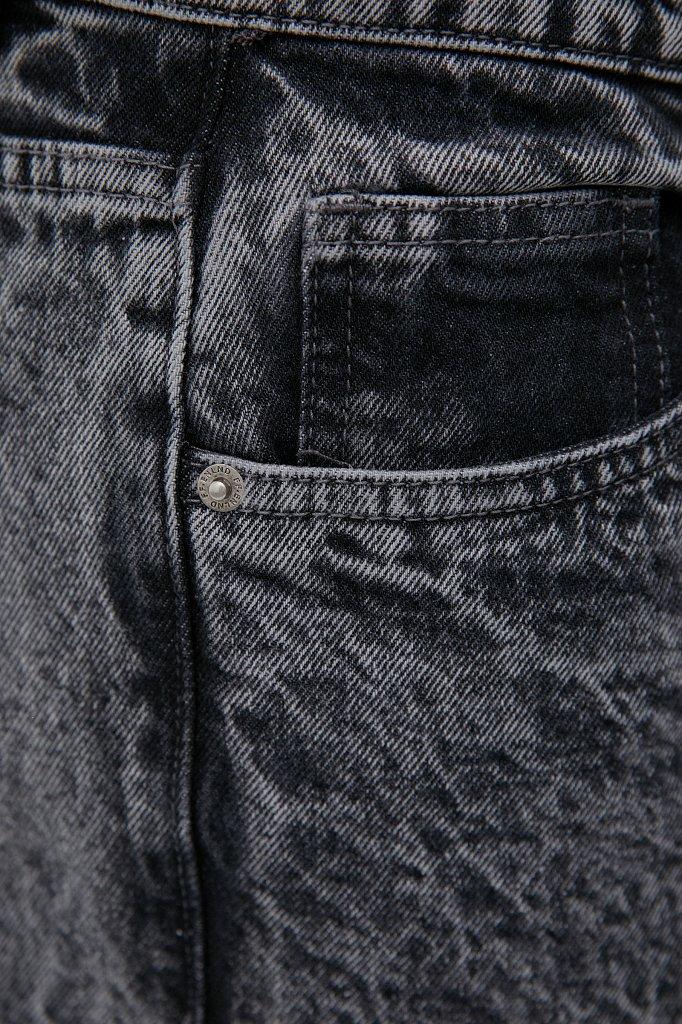 Классические прямые мужские джинсы straight fit, Модель FAB25009, Фото №5