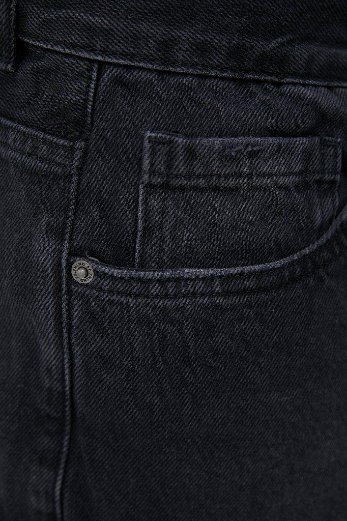 Слегка зауженные мужские джинсы slim fit, Модель FAB25014, Фото №5