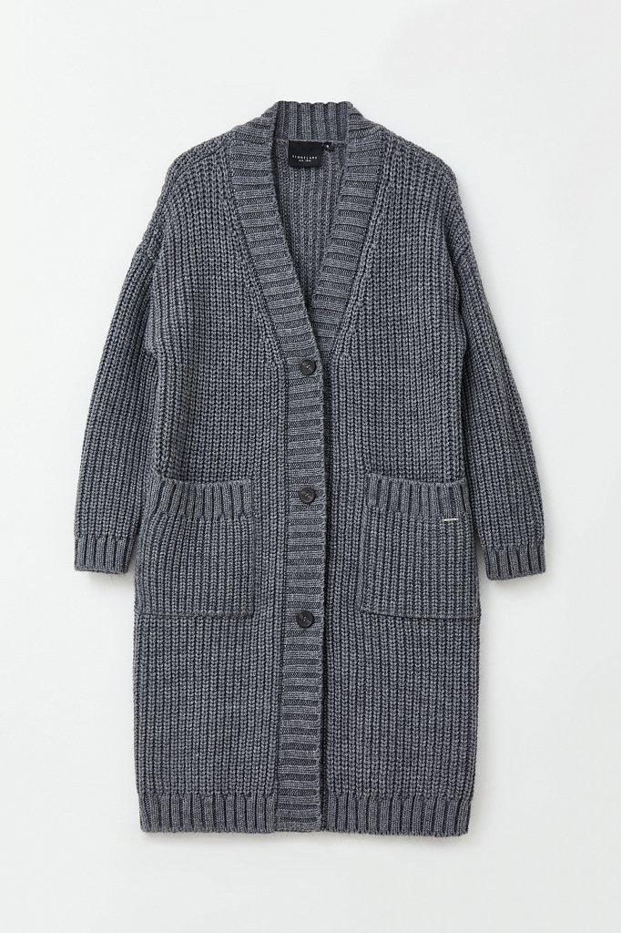 Пальто женское с шерстью, Модель FAB111104, Фото №7