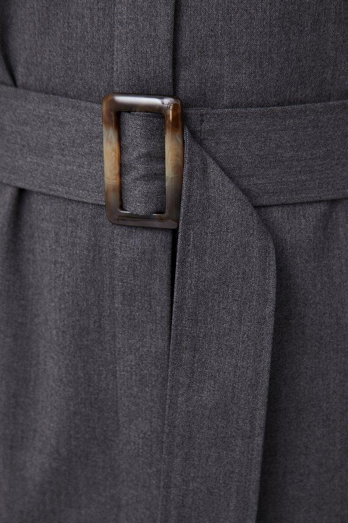 Платье-рубашка женское из мягкой смесовой ткани, Модель FAB11036, Фото №6