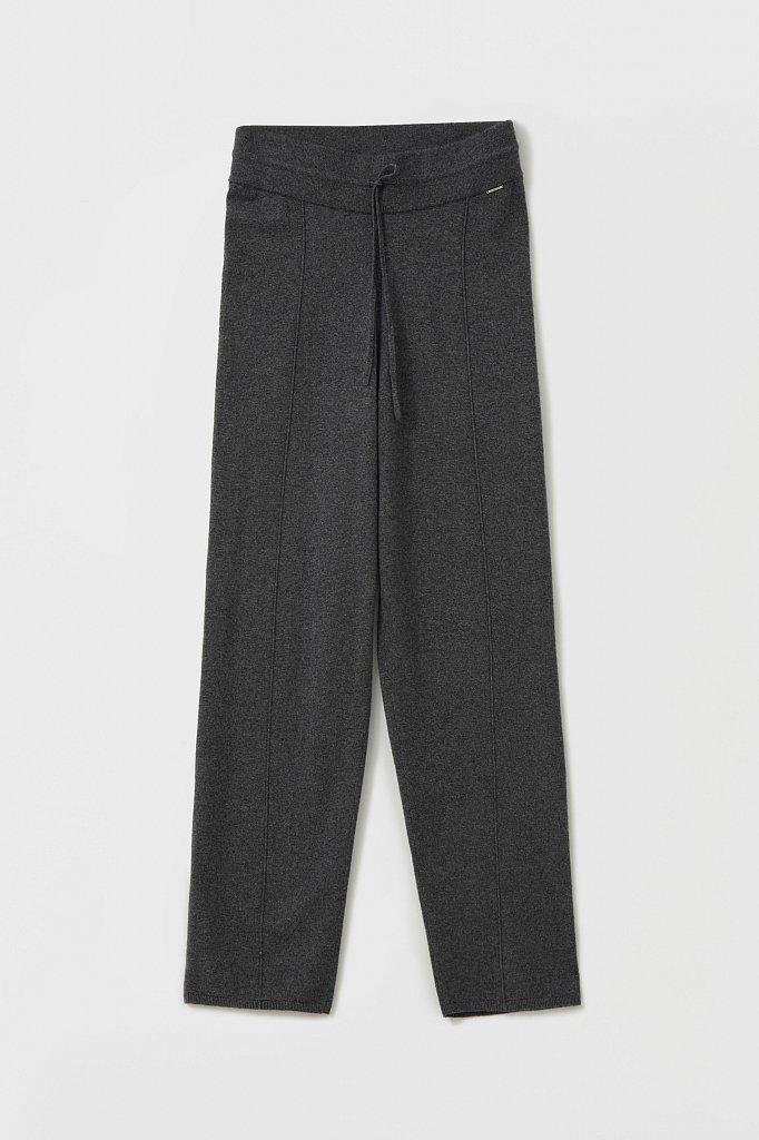 Женские спортивные брюки с шерстью и кашемиром, Модель FAB11187, Фото №6