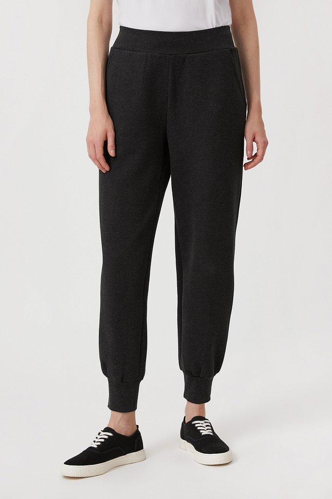 Спортивные женские брюки прямого кроя, Модель FAB11043, Фото №2