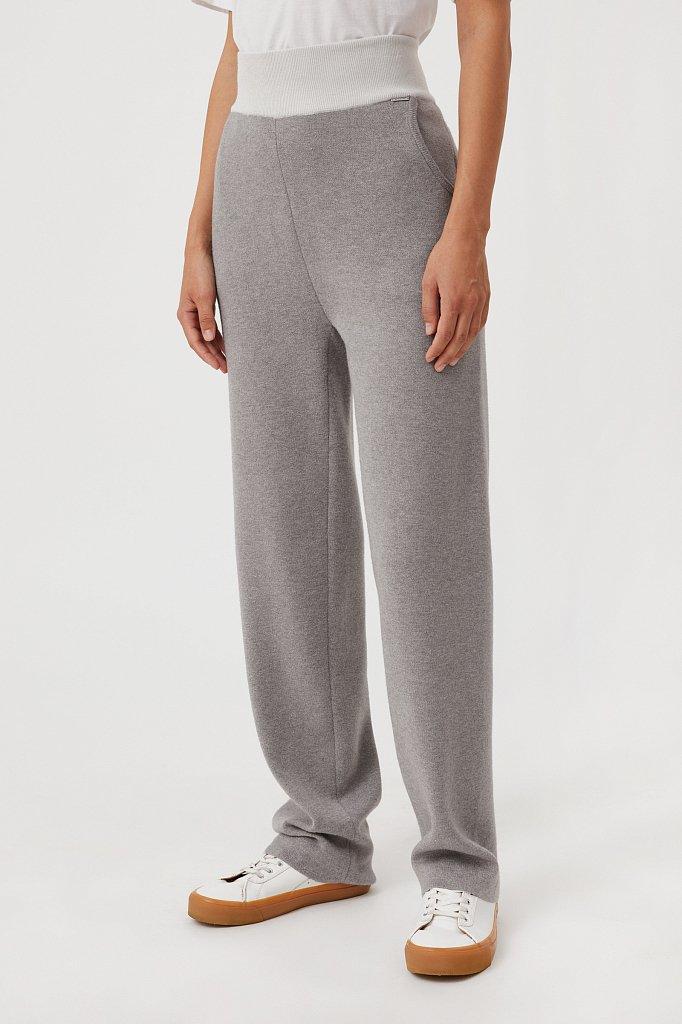 Женские спортивные брюки с резинкой на поясе, Модель FAB11147, Фото №3