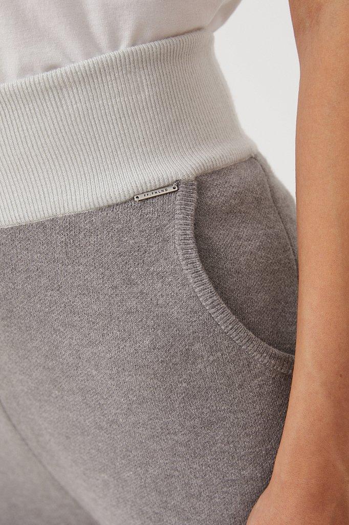 Женские спортивные брюки с резинкой на поясе, Модель FAB11147, Фото №5