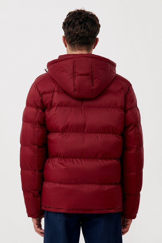 Куртка мужская свободного кроя с капюшоном, Модель FAB210108C, Фото №5