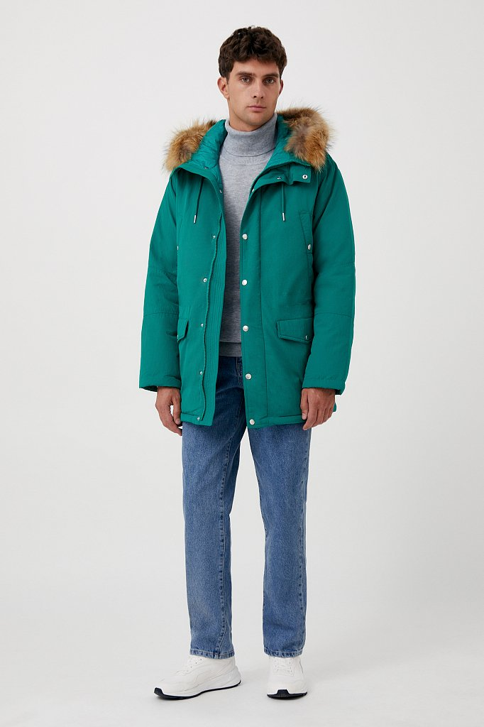 Пальто мужское, Модель FAB21066, Фото №2