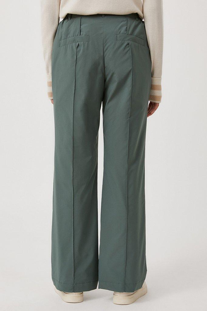 Утепленные женские брюки с поясом на резинке, Модель FAB110174, Фото №4