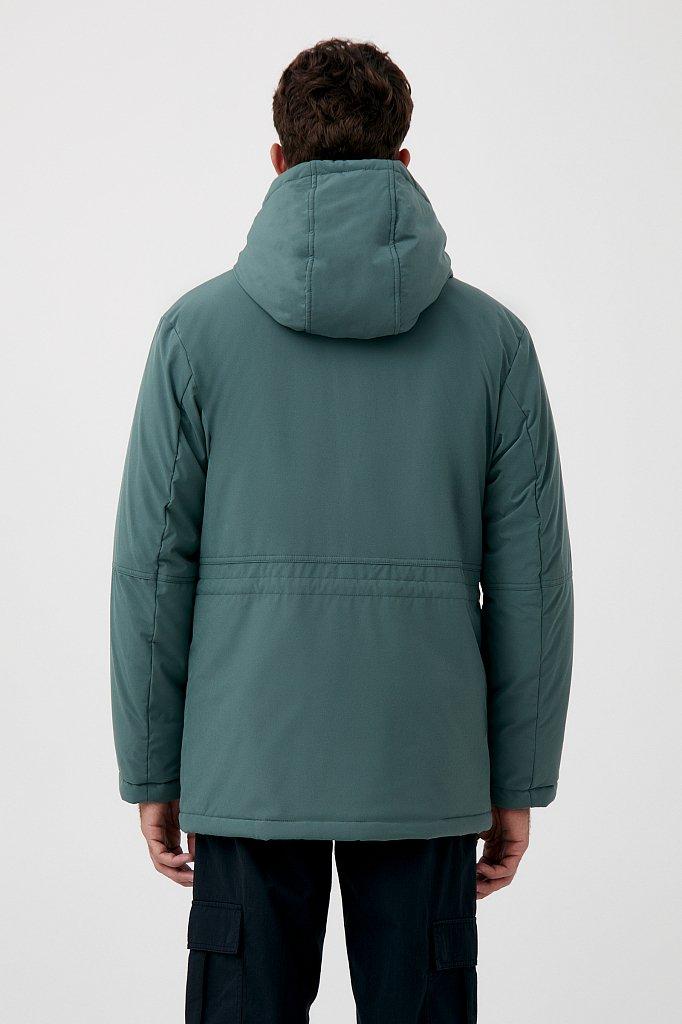 Демисезонная куртка мужская свободного кроя, Модель FAB21049, Фото №5