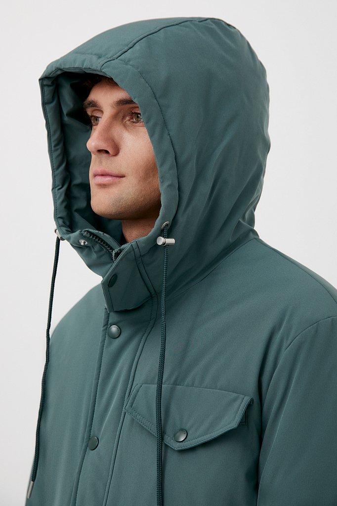 Демисезонная куртка мужская свободного кроя, Модель FAB21049, Фото №6