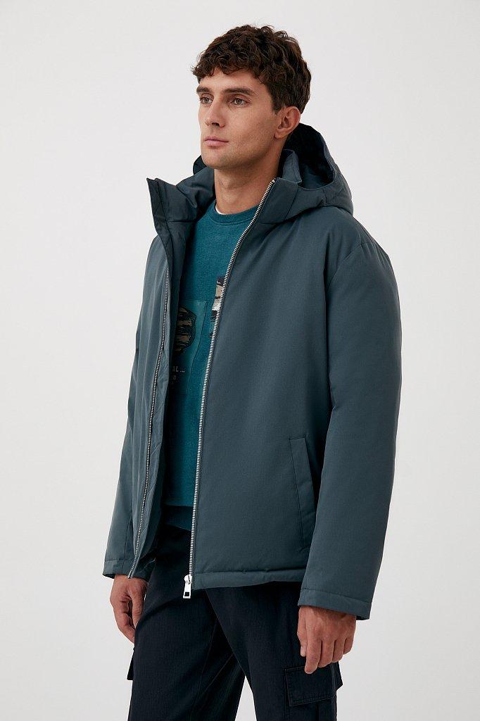 Демисезонная куртка мужская свободного кроя, Модель FAB21006, Фото №3