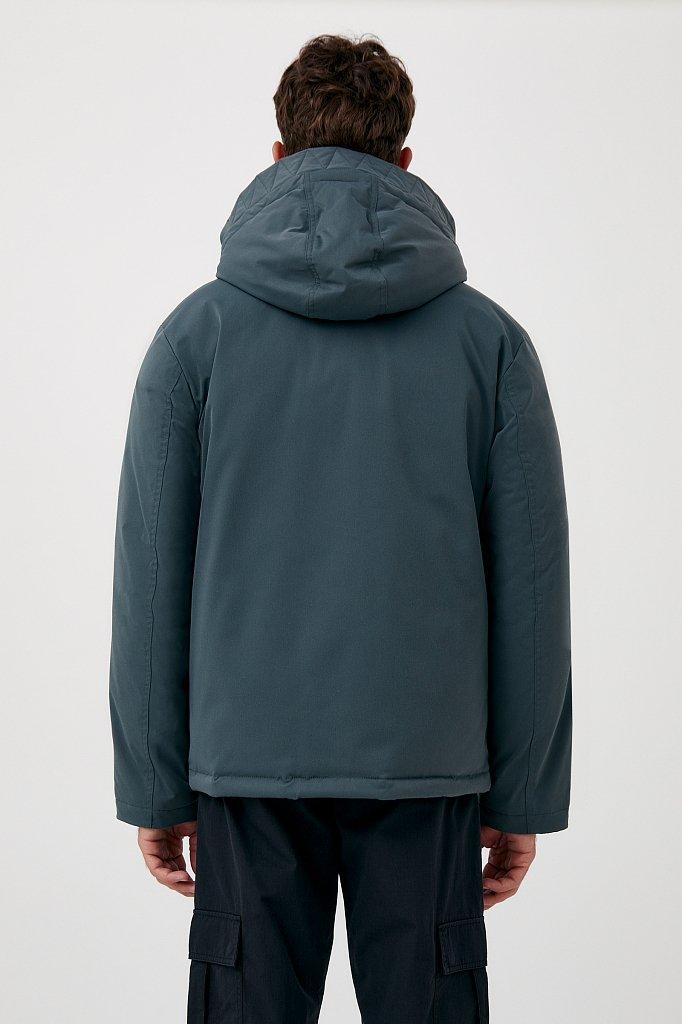 Демисезонная куртка мужская свободного кроя, Модель FAB21006, Фото №4