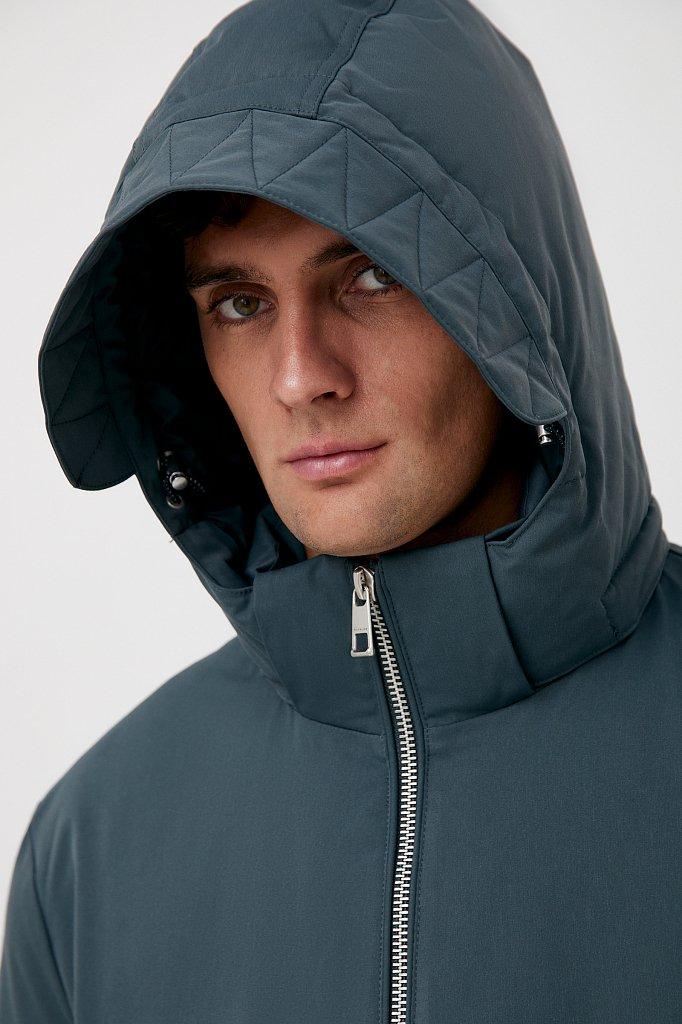 Демисезонная куртка мужская свободного кроя, Модель FAB21006, Фото №5