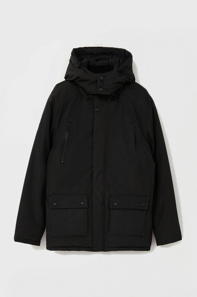 Удлиненная куртка в стиле casual, Модель FAB210107C, Фото №8