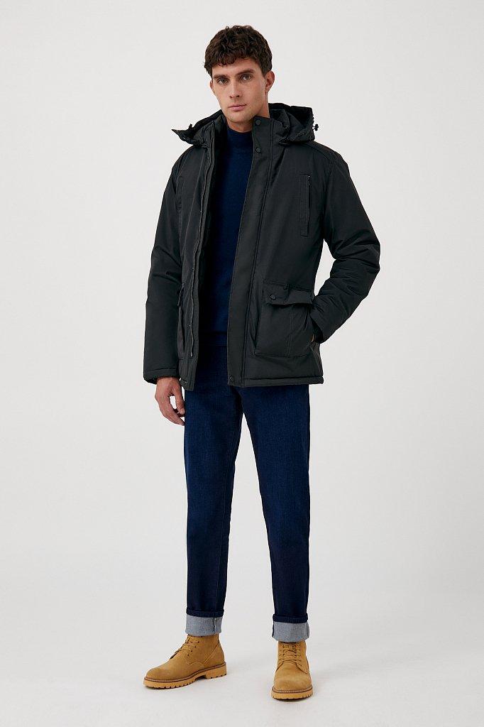 Удлиненная куртка в стиле casual, Модель FAB210107C, Фото №2